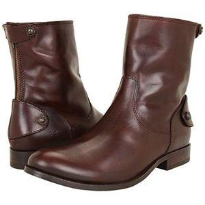 Frye NIB women's Melissa Short Leather Boots